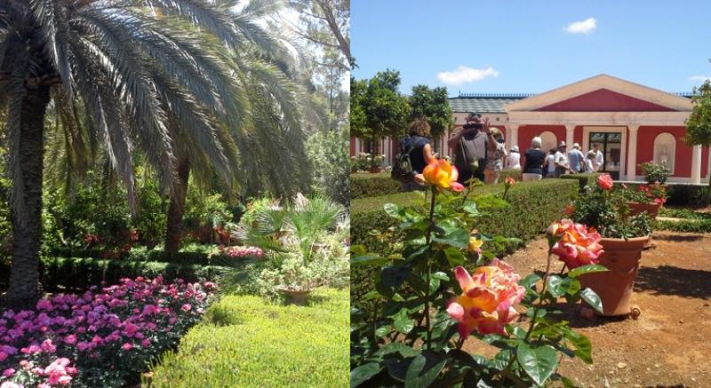 Rose convention en el jard n de l albarda jard n de l - El jardin mediterraneo ...
